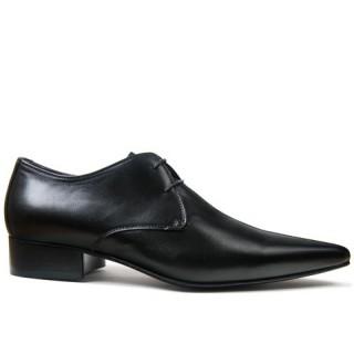 1960 Winkle.Picker : Eddie - Black Shoe