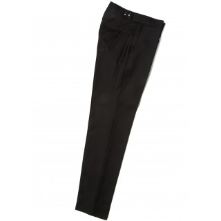 The Chesterfield / Sullivan Trousers - Black Drainpipe