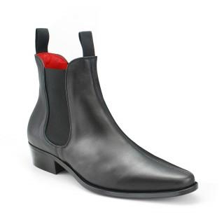 Classic Boot - Black Calf Leather