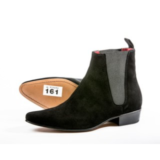 Clearance Lot 161 - Low Cavern Boot Black Suede Size 45