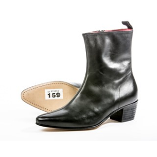 Clearance Lot 159 - Zip Boot Black Calf Size 44