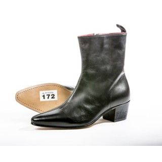 Clearance Lot 172 - Zip Boot Black Calf Size 43