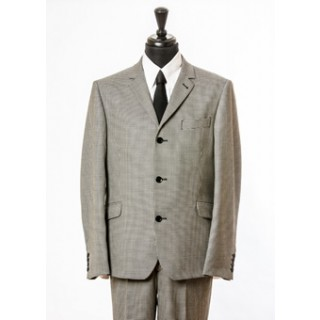 The Dogstooth Mod Suit - Grey