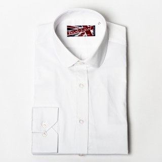 """Ex-Display : Penny Round White Shirt  15"""" or 16.5"""""""
