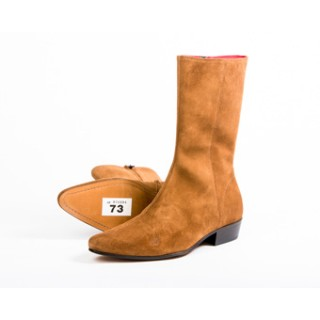 Clearance Lot 73 - Low Lennon Tan Suede Boot Size 42