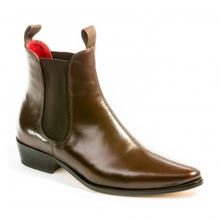 Sale : Classic Boot - Chestnut Brown Calf Leather-48 (UK 14 / US 14.5)