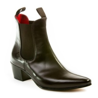Sale : Original Chelsea Boot - Vintage Dark Brown Leather-48 (UK 14 / US 14.5)