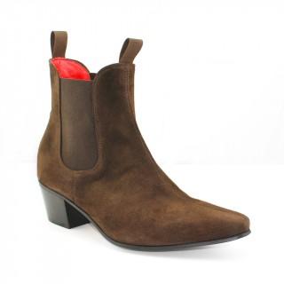 Sale : Original Chelsea Boot - Chocolate Suede-40.5 (UK 6.5 / US 7)