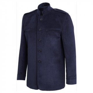 The George Coat - Navy Blue
