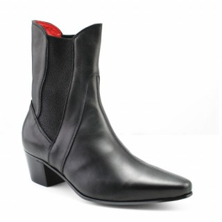 Sale : High Point Boot - Black Calf Leather-40 (UK 6 / US 6.5)