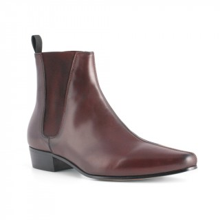 Sale : Low Cavern - Burgundy Leather (old)-47 (UK 13 / US 13.5)