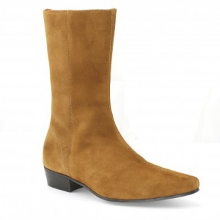 Sale : Low Lennon Boot - Tan Suede-48 (UK 14 / US 14.5)