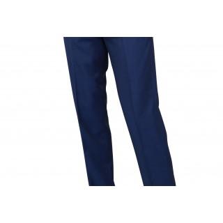 The London Mod Trousers -  Vibrant Blue Drainpipe