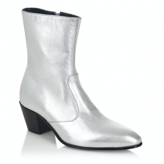 The DC5 Boot - Silver Leather