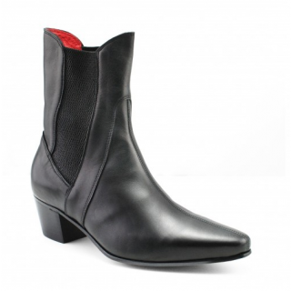 Sale : High Point Boot - Black Calf Leather-47 (UK 13 / US 13.5)