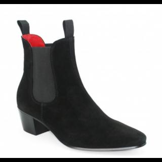 Sale : Original Chelsea Boot Black Suede Size 41