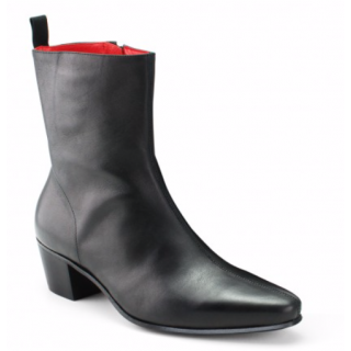 Beatwear Bargain : Zip Boot in Black Leather