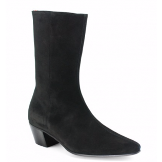 Stock shot of the Beatwear High Lennon Black Suede