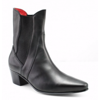 Reduced Sale Price : High Point Boot in Black Calf