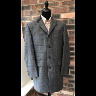 Sample Sale : Grey Check Lennon Frockcoat Jacket  40R