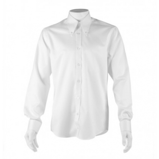 Sample Shirt : Long Sleeve Double Cuff Button Down White