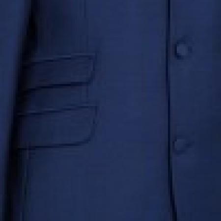 The London Mod Jacket - Vibrant Blue