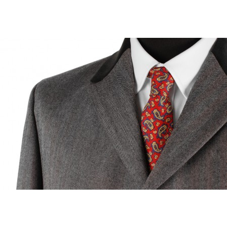 Clearance Price : The Lennon Frock Coat Suit - Grey
