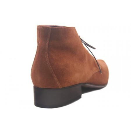 1960 Winkle.Picker : Jerry - Taupe Suede Ankle Boot