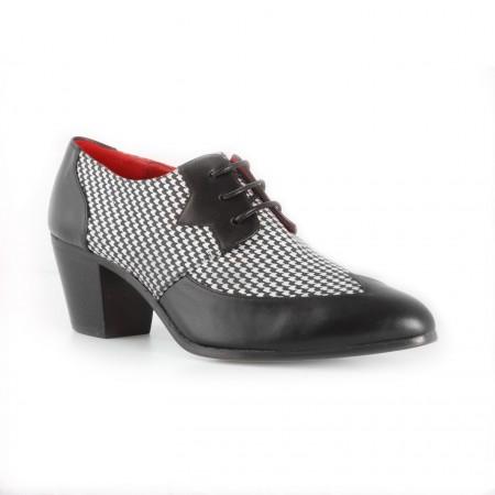 Archie Eyebrows :  Amechi Shoe - Black Box Calf & Scotland
