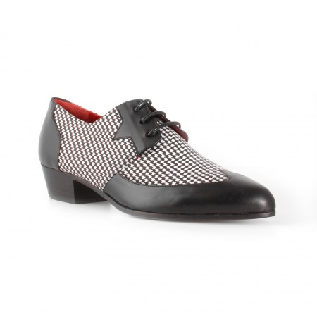 Archie Eyebrows : Luis Shoe - Black Box Calf & Scotland