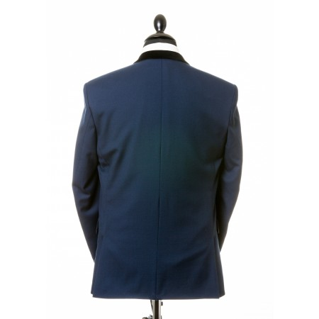 *Final Sale : The Chesterfield Jacket - Persian Blue