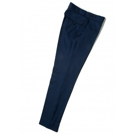 *Final Sale : The Chesterfield Trousers - Persian Blue Drainpipe
