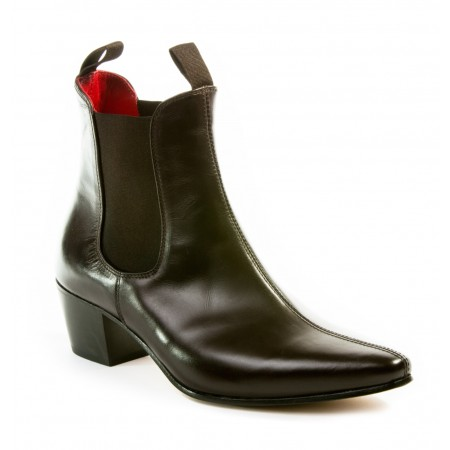 Sale : Original Chelsea Boot - Vintage Dark Brown Leather
