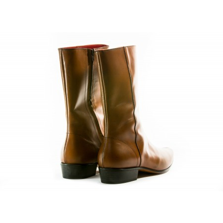 SALE: Low Lennon Boot - Vintage Tan Calf