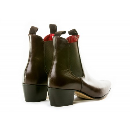 Discontinued : Original Chelsea Boot - Vintage Dark Brown Leather