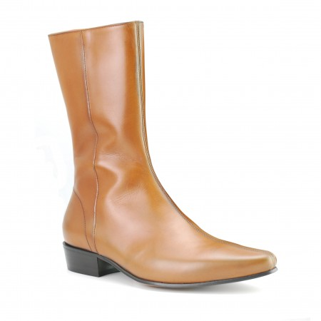 Low Lennon Boot - Vintage Tan Calf
