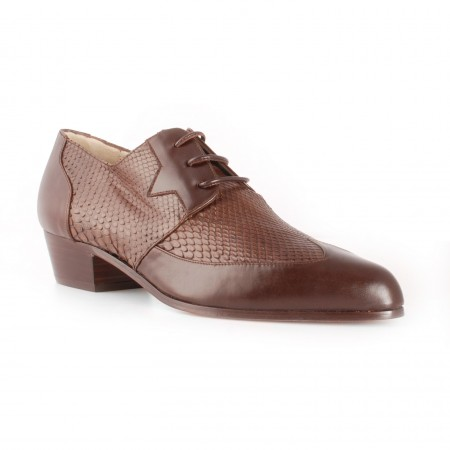 Bargain Basement : AE Luis Shoe Brown Python