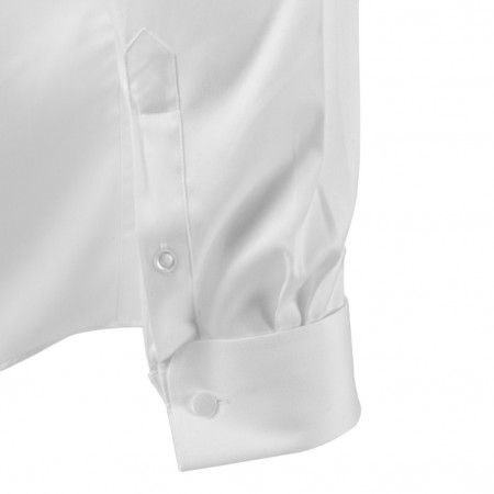 Long Pointed B/D DBL Cuff Shirt