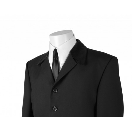 The Sullivan Jacket - Black Pure New Wool
