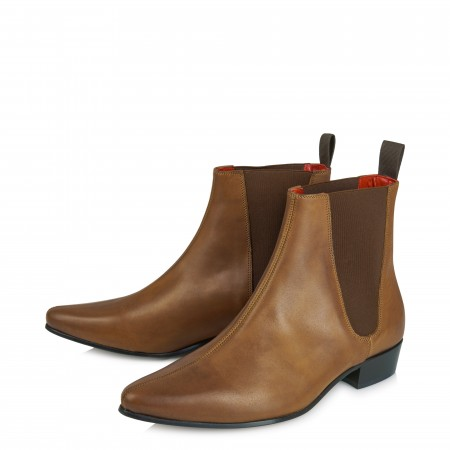 Discontinued Colour : Low Cavern Boot - Vintage Tan Leather