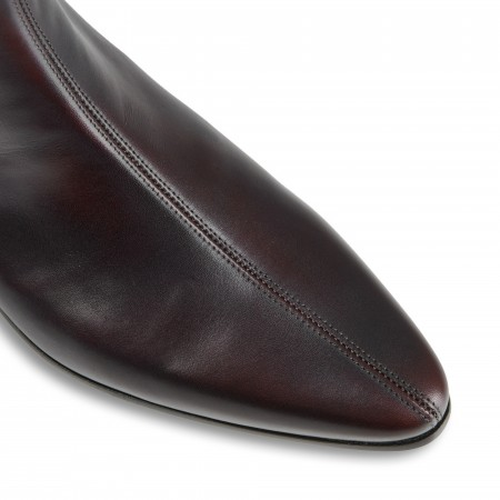 Reduced Sale Price : Low Cavern Boot - Vintage Burgundy Burnished