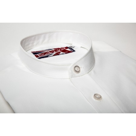 "Ex Display : Nehru Collar Shirt 15.5"" or 16"""