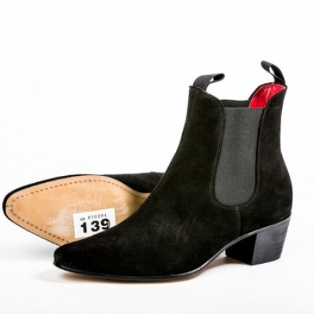 Clearance Lot 139 - Original Chelsea Boot Black Suede Size 42