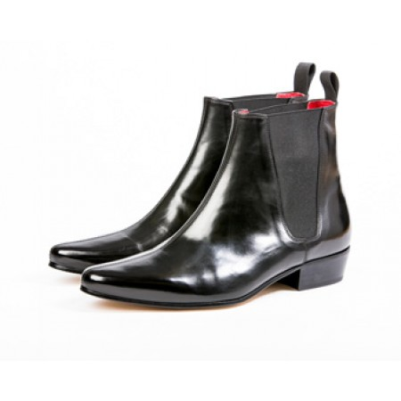 Clearance Lot 89 - Low Cavern Boot Black Calf Size 43.5