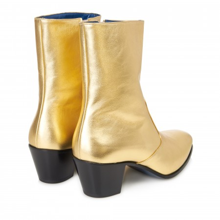 Discontinued Finish : The DC5 Boot - Gold Leather
