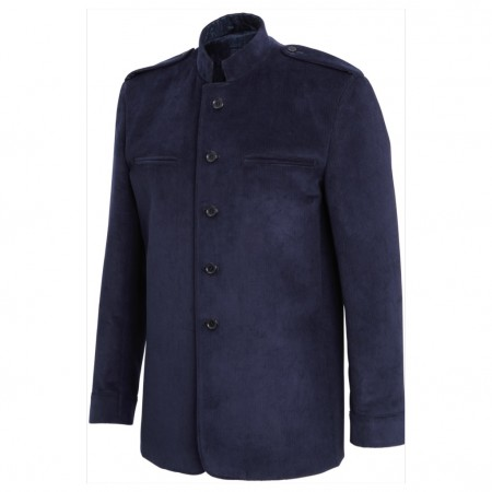 Sale : The George Coat - Navy Blue