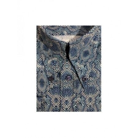 Sample Sale : Snake - Long Pointed B/D SGL Cuff Shirt