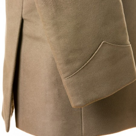 The Shea Moleskin Coat