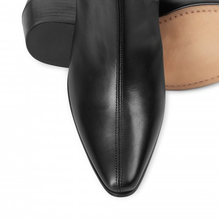 Women's Original Chelsea Boot - Black Calf Leather