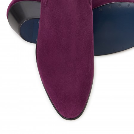 Discontinued Finish : Ringo Boot - Plum Suede